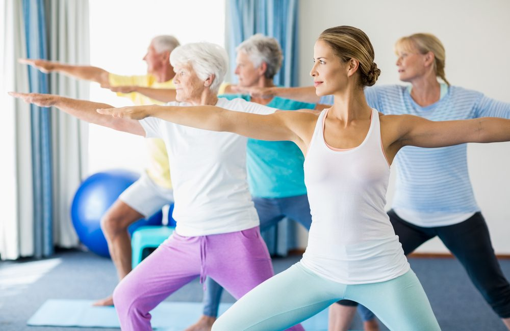 seniors yoga classes