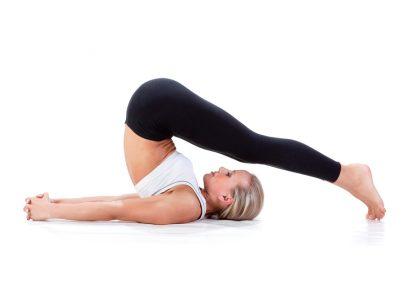 plough pose in yoga